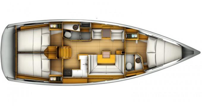 Boat rental Jeanneau Sun Odyssey 419 in Paros Island on Samboat