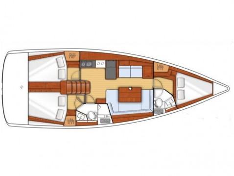 Rental yacht Propriano - Bénéteau Oceanis 41 on SamBoat