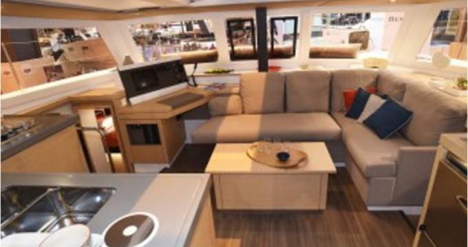 Rental Catamaran in Marina di Portisco - Fountaine Pajot Lucia 40
