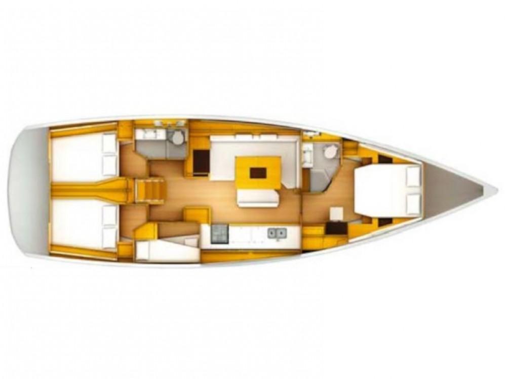 Rental yacht Roda de Berà - Jeanneau Sun Odyssey 519 on SamBoat