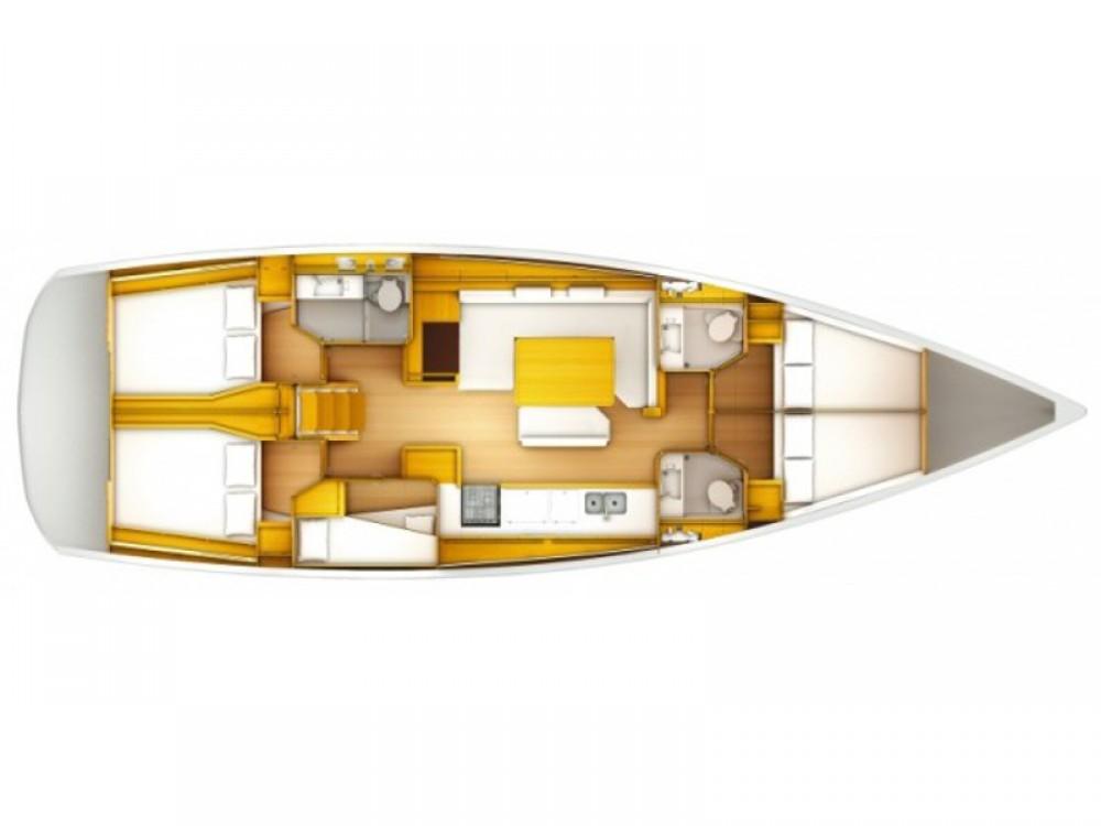 Rental Sailboat in Roda de Berà - Jeanneau Sun Odyssey 519