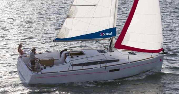 Rental yacht Lefkada (Island) - Jeanneau Sunsail 34 on SamBoat