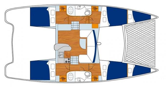 Rental Catamaran in Dubrovnik - Leopard Sunsail 404