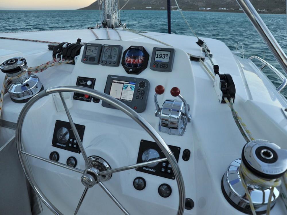 Rental Catamaran in Îles Sous-le-Vent - Leopard Sunsail 444