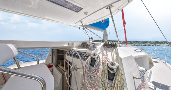 Boat rental Lefkada (Island) cheap Sunsail 404