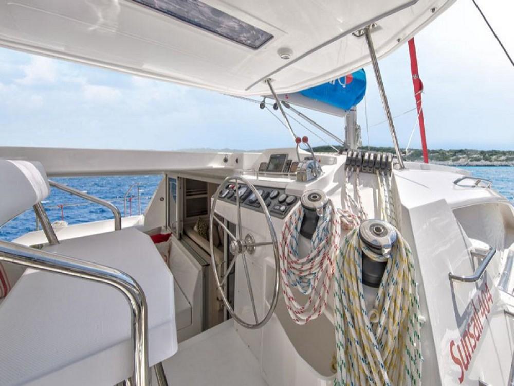 Boat rental Lefkada cheap Sunsail 404