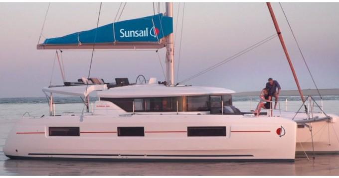 Rental Catamaran in Road Town - Lagoon Sunsail 46 Cat