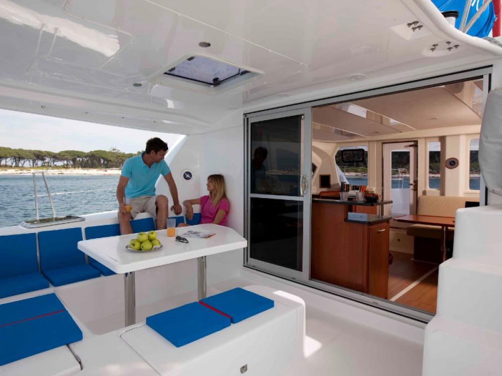 Hire Catamaran with or without skipper Leopard Antigua and Barbuda