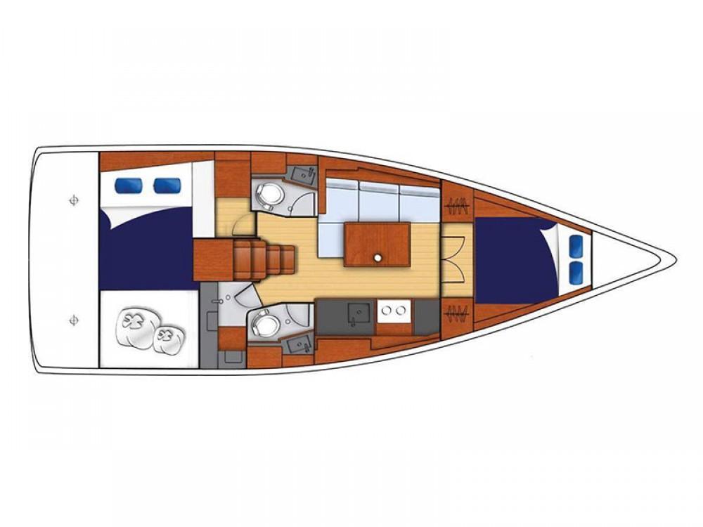 Boat rental Bénéteau Moorings 382 in Road Town on Samboat