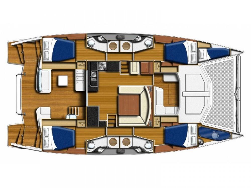 Boat rental Leopard Sunsail 484 in Road Town on Samboat