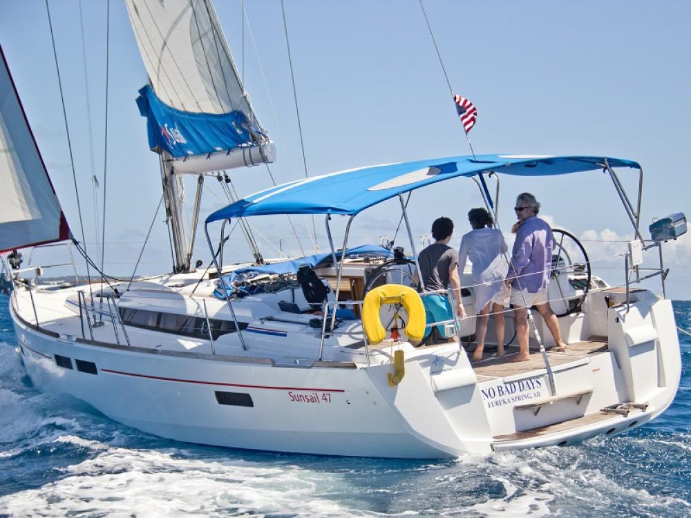 Rental yacht  - Jeanneau Sunsail 47/3 on SamBoat