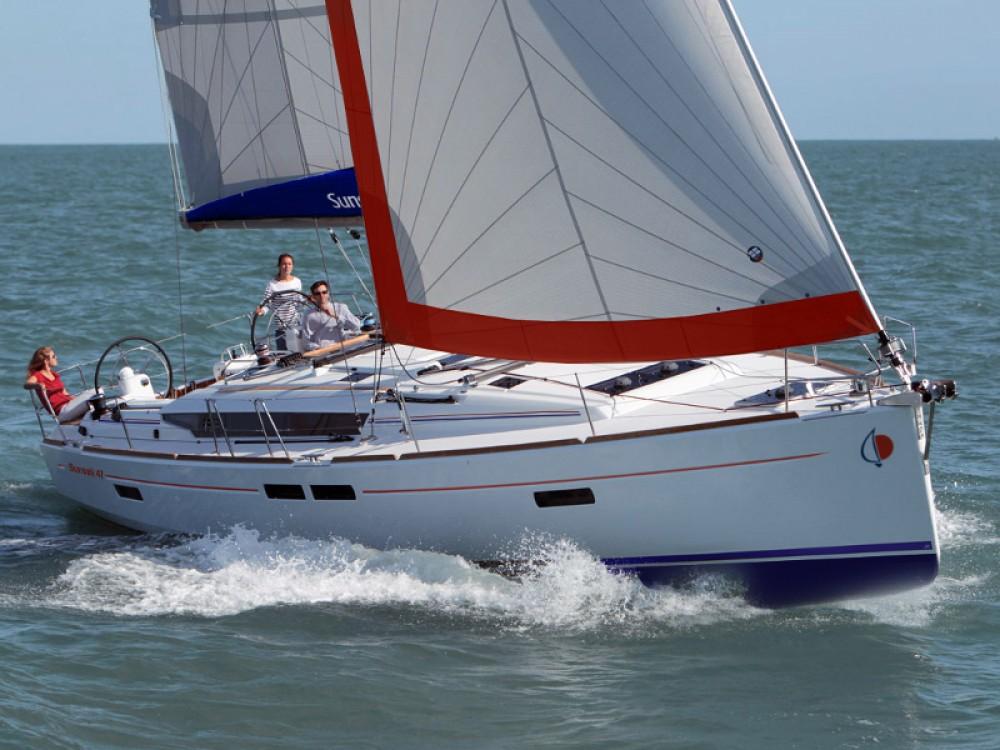 Boat rental  cheap Sunsail 47/3