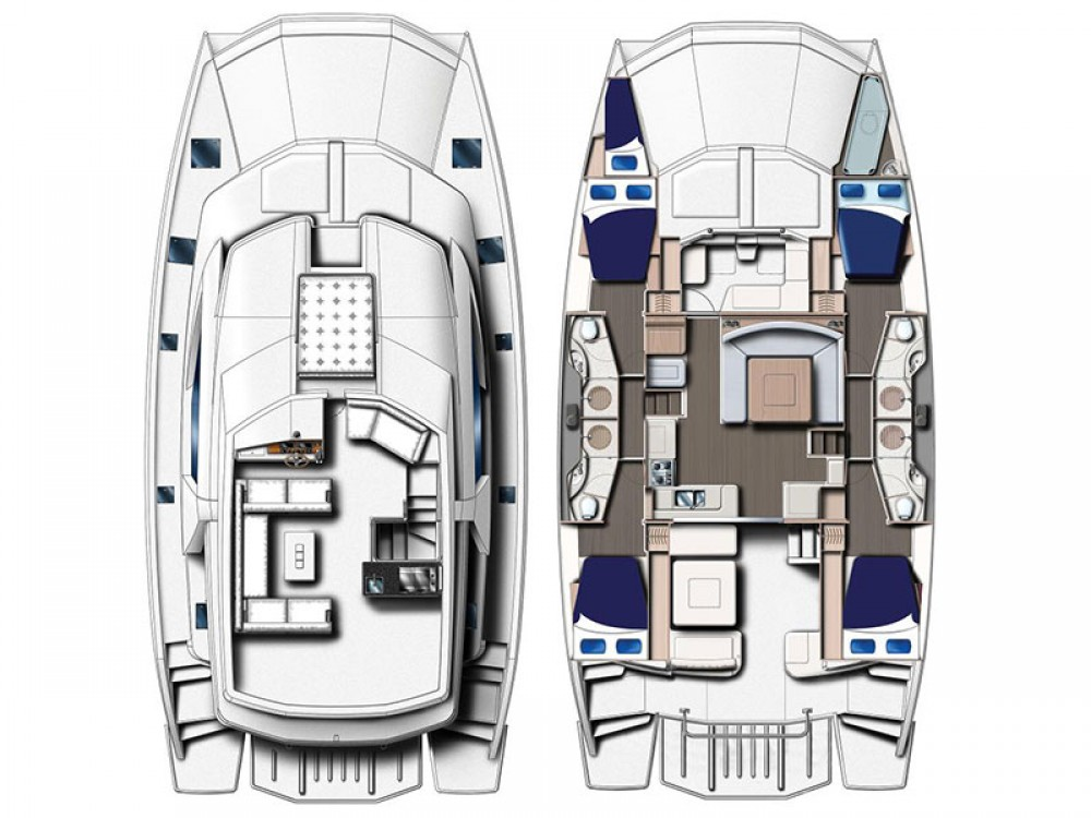 Leopard Moorings 514 PC between personal and professional Nassau