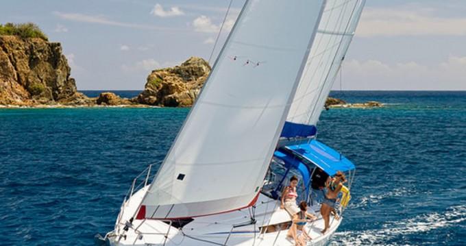 Rental Sailboat in Antigua - Jeanneau Sunsail 41