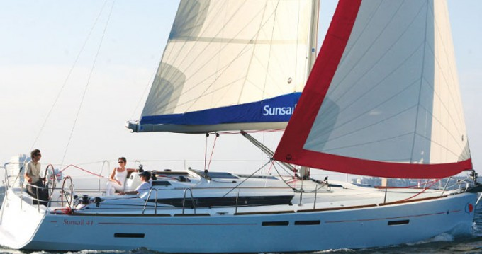 Boat rental Jeanneau Sunsail 41 in Dubrovnik on Samboat