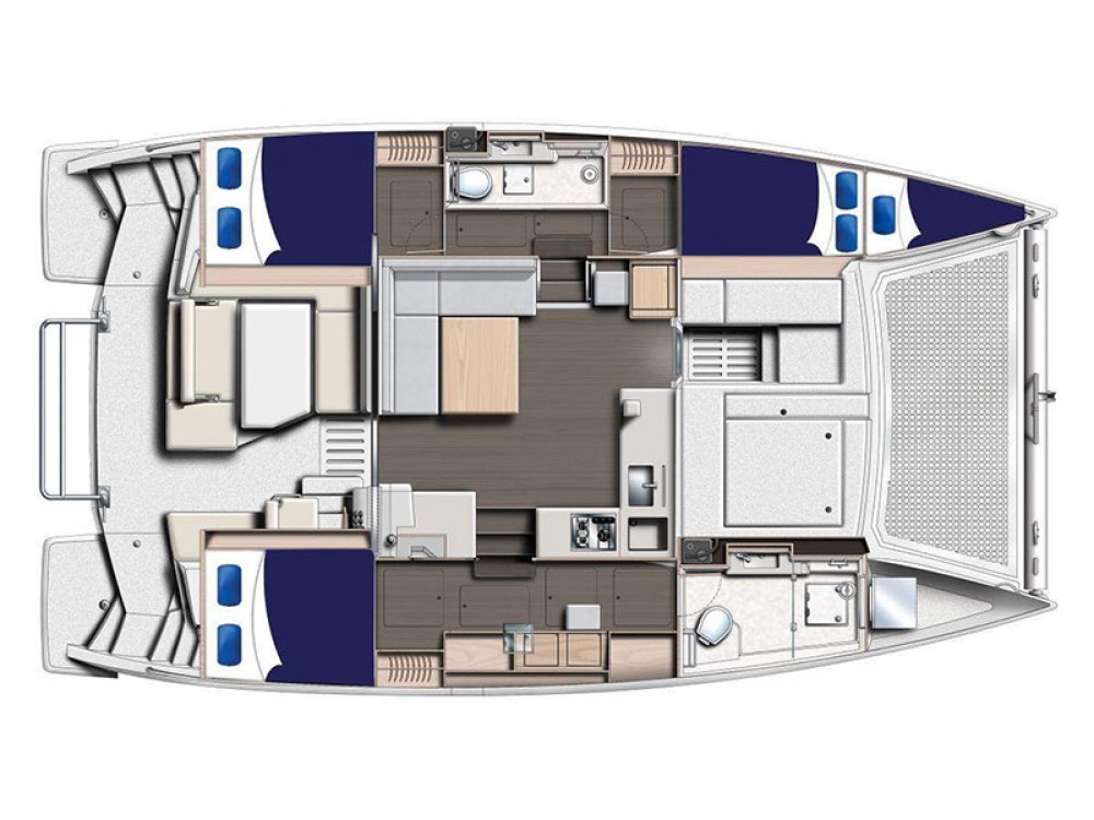 Rental yacht Road Town - Leopard Moorings 4000/3 on SamBoat