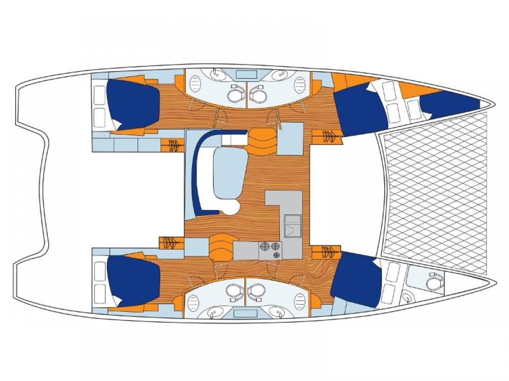 Rental yacht  - Leopard Sunsail 454-10 on SamBoat