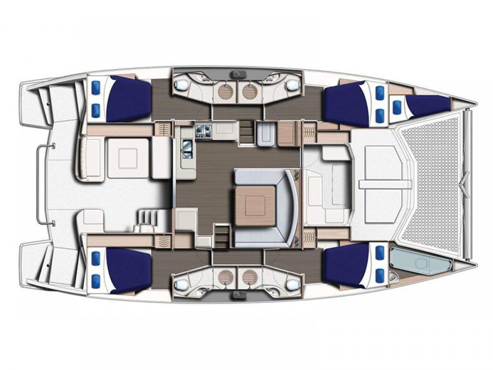 Leopard Moorings 4800 between personal and professional Victoria