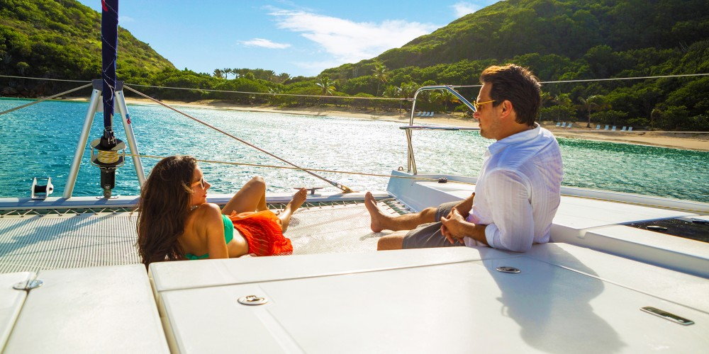 Rental yacht Marina - Leopard Moorings 4000 on SamBoat