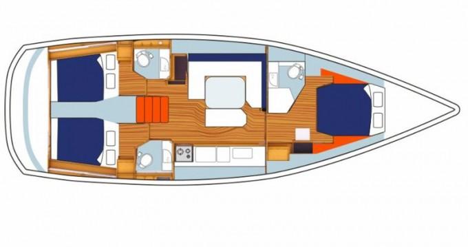 Boat rental Dubrovnik cheap Sunsail 47