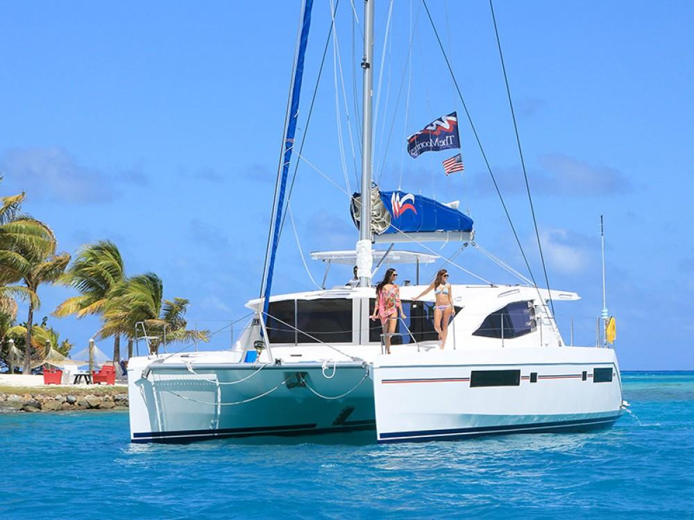 Rental Catamaran in Marina Gouvia - Leopard Moorings 4800