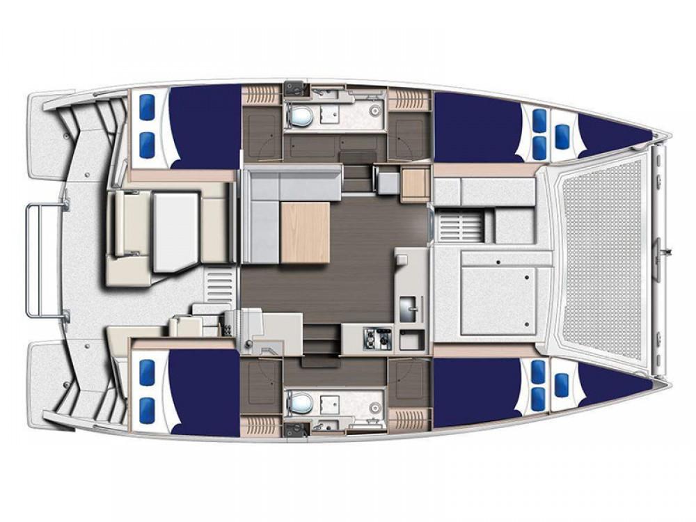 Rental yacht Zea Marina - Leopard Moorings 4000 on SamBoat