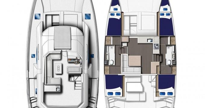 Boat rental Leopard Moorings 434 PC in Gouvia on Samboat