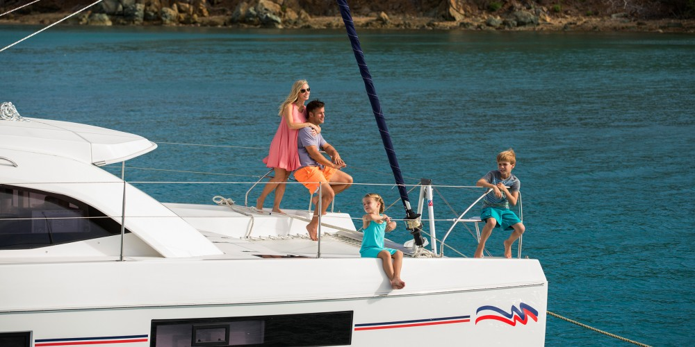 Leopard Moorings 4000 between personal and professional
