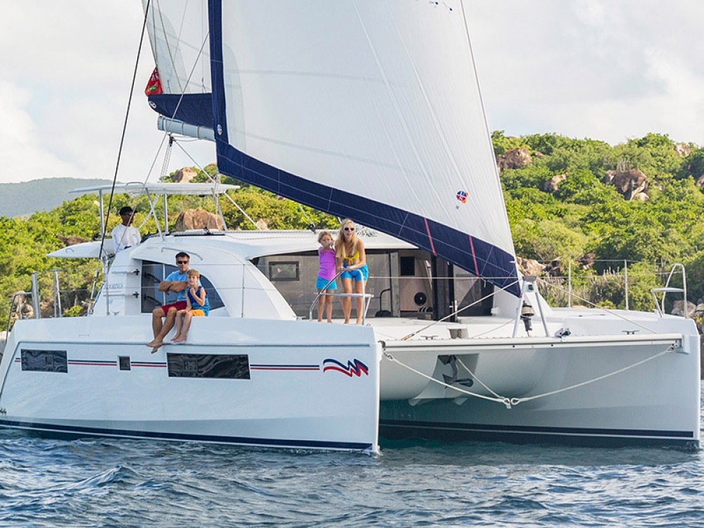 Leopard Moorings 4000 between personal and professional Castries