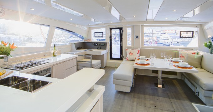 Leopard Moorings 4800 between personal and professional Rodney Bay