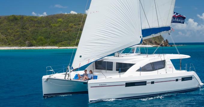 Rental Catamaran in Rodney Bay - Leopard Moorings 4800