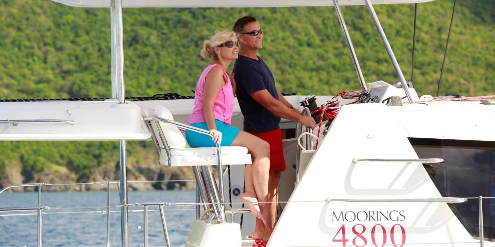 Rental Catamaran in Castries - Leopard Moorings 4800