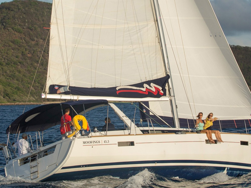 Bénéteau Moorings 453 between personal and professional Castries
