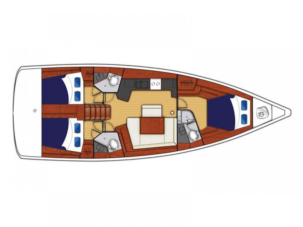 Rental yacht Castries - Bénéteau Moorings 453 on SamBoat