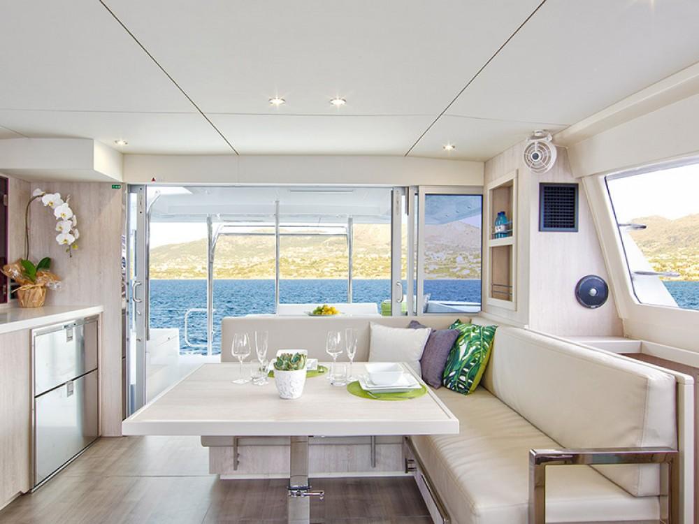 Rental Catamaran in Zea Marina - Leopard Moorings 4000
