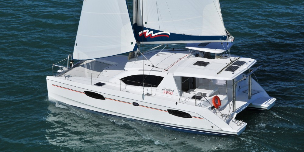 Rental yacht Marina Gouvia - Leopard Moorings 3900 on SamBoat