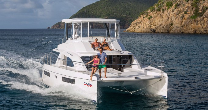 Leopard Moorings 433 PC between personal and professional