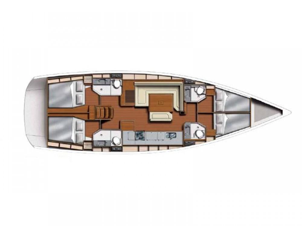 Boat rental Castries cheap Sunsail 51