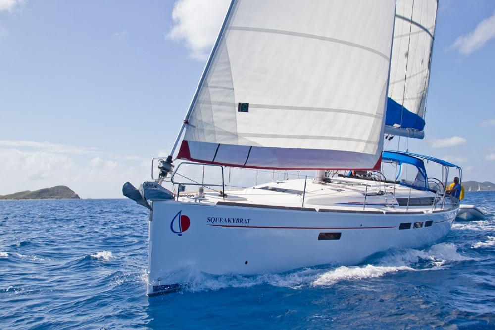 Jeanneau Sunsail 51 between personal and professional Castries