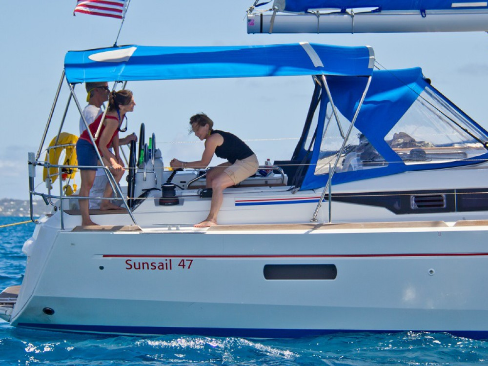 Rental Sailboat in Lefkada - Jeanneau Sunsail 47