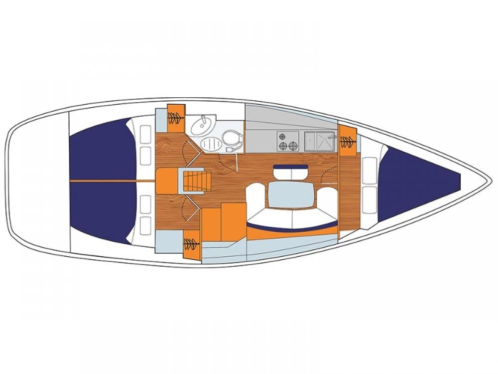 Rental yacht  - Jeanneau Sunsail 38 on SamBoat