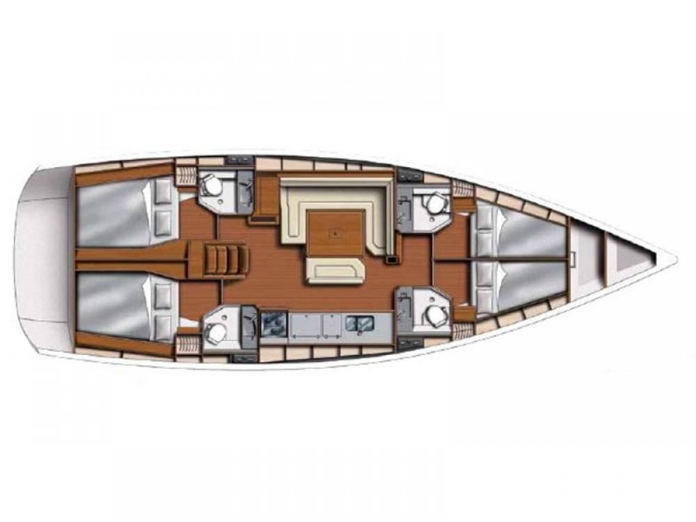 Rental yacht  - Jeanneau Sunsail 47 on SamBoat