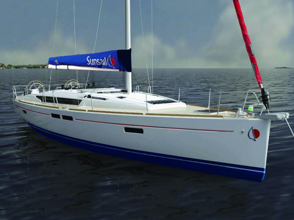 Boat rental  cheap Sunsail 47
