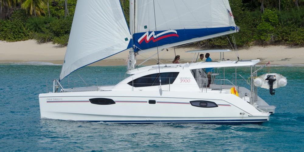 Rental Catamaran in Marina - Leopard Moorings 3900