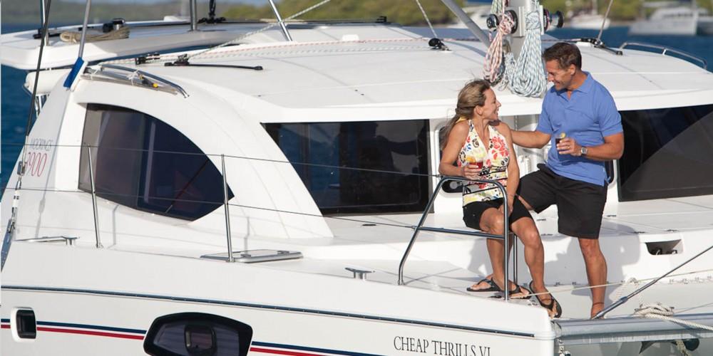 Boat rental Leopard Moorings 3900 in Marina on Samboat