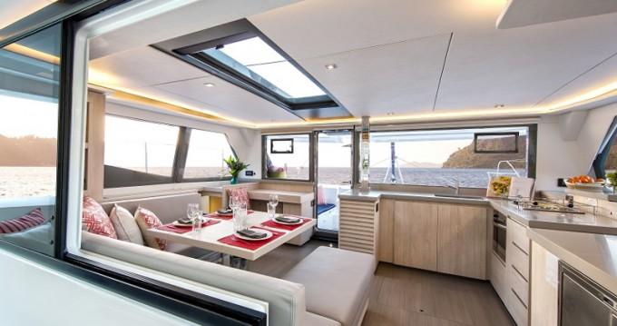 Rental Catamaran in Antigua - Leopard Sunsail 454L