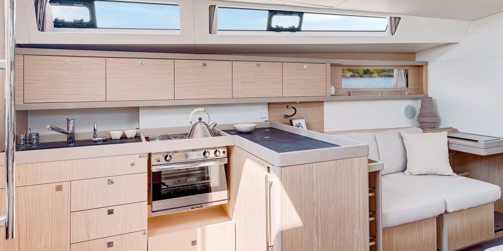 Rental Sailboat in Marina Gouvia - Bénéteau Moorings 45