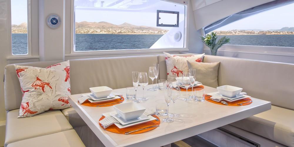 Rental Catamaran in Victoria - Leopard Moorings 4800