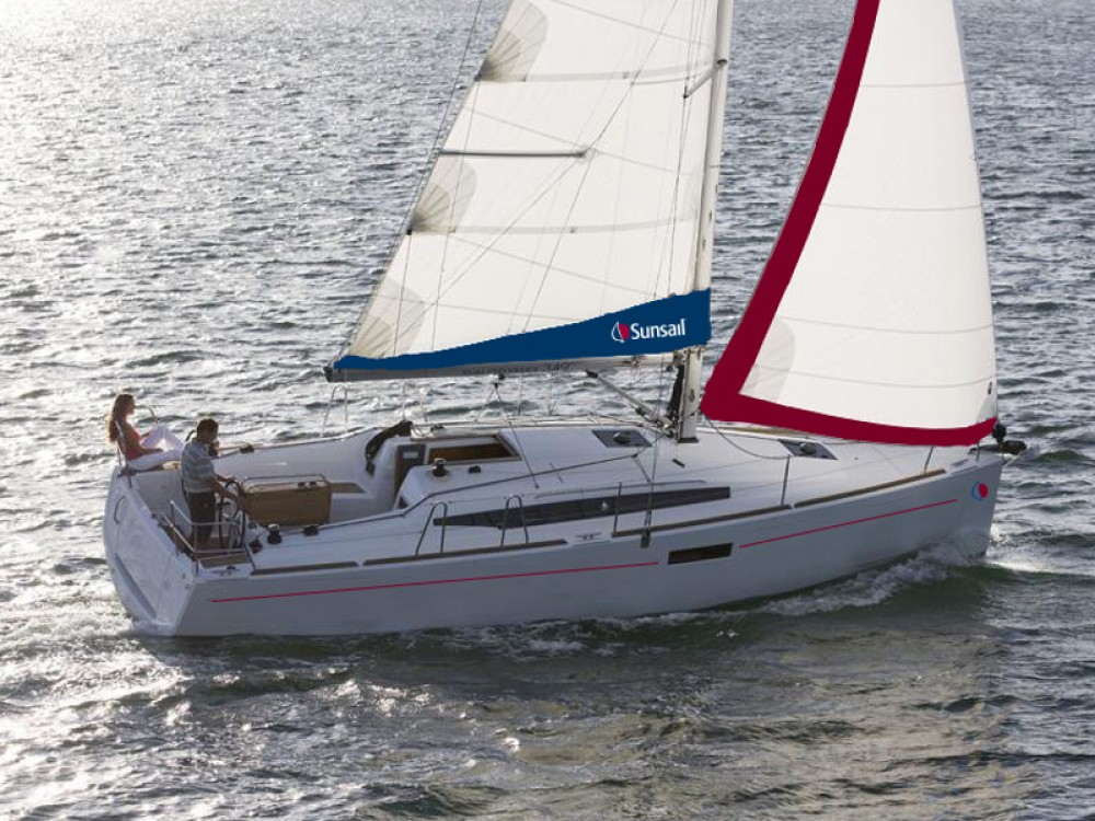 Boat rental Jeanneau Sunsail 34- 2/1 in  on Samboat