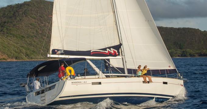 Boat rental Rodney Bay cheap Moorings 453